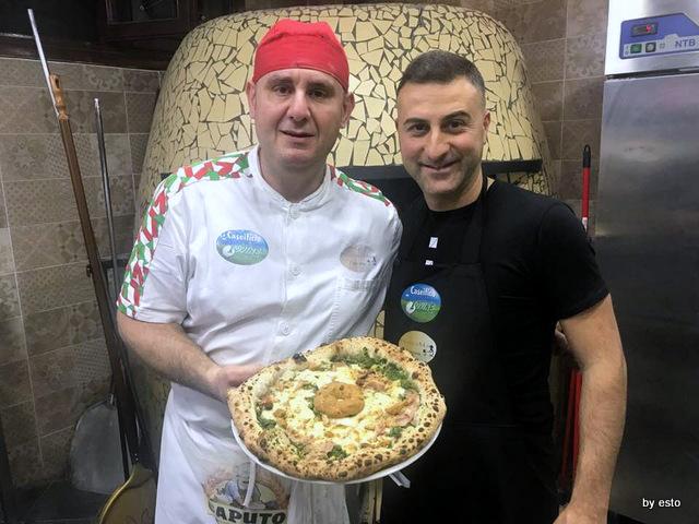 Pizzeria Nonna Ma pizza Fresella Corrado Alfano e Mimmo D'Agostino