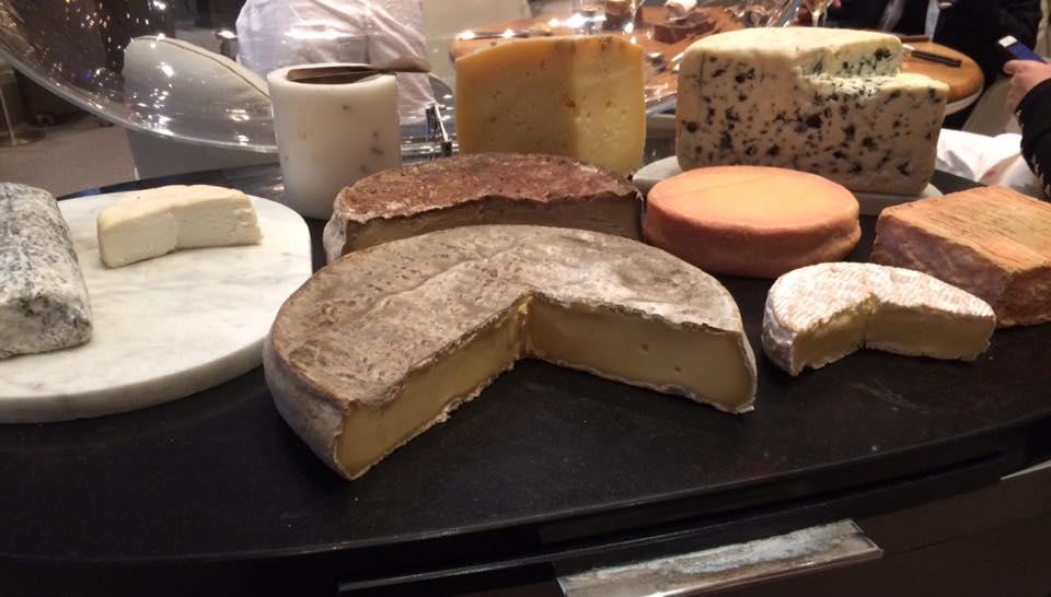 Plaza Athenee, carrello dei formaggi