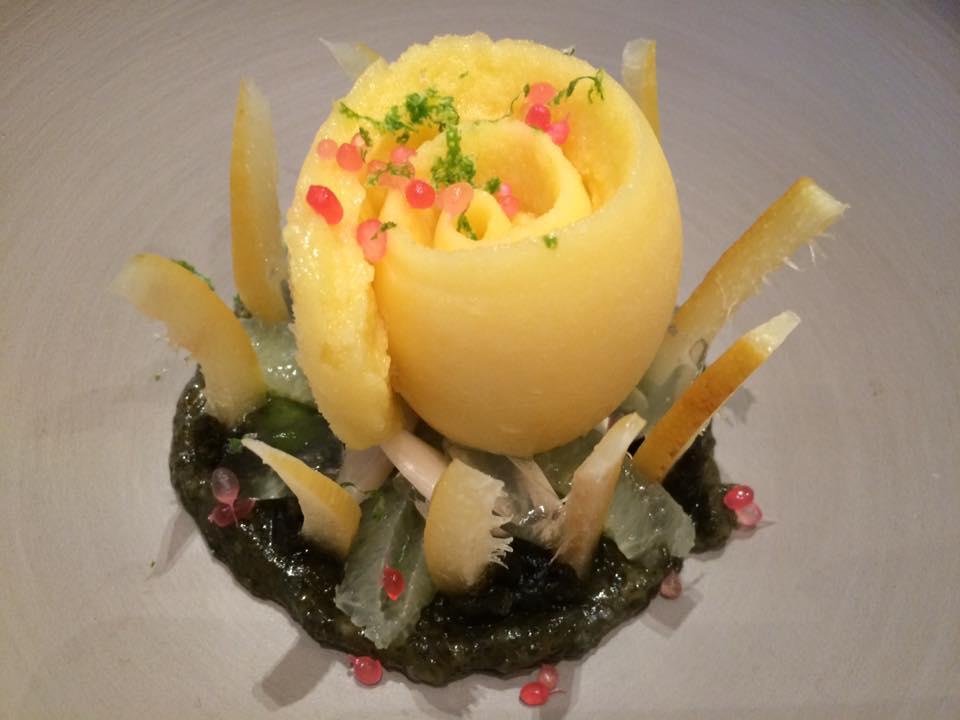 Plaza Athenee, il dessert al limone e dragoncello