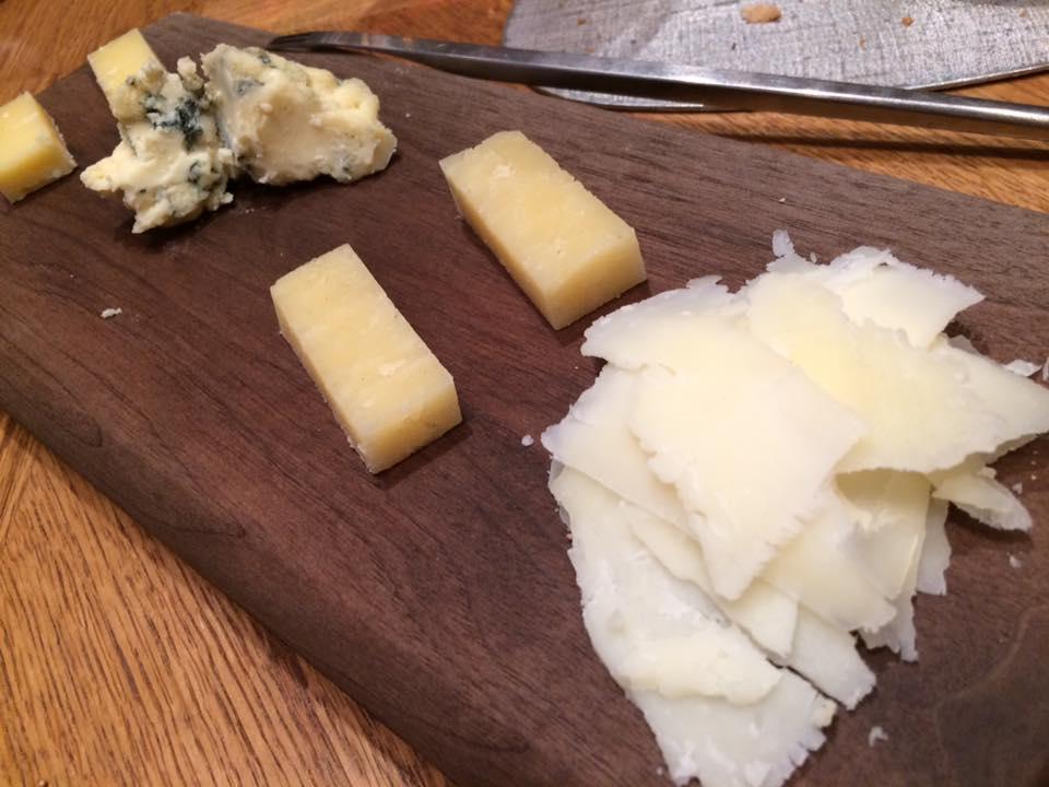 Plaza Athenee, il formaggio