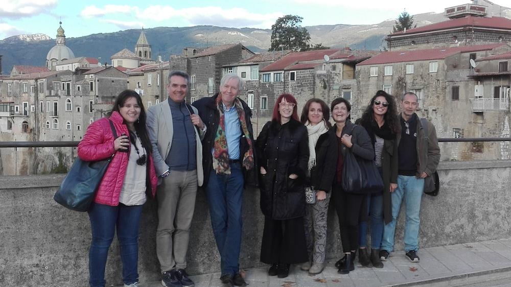 Sant'Agata dei Goti - Giornalisti in tour