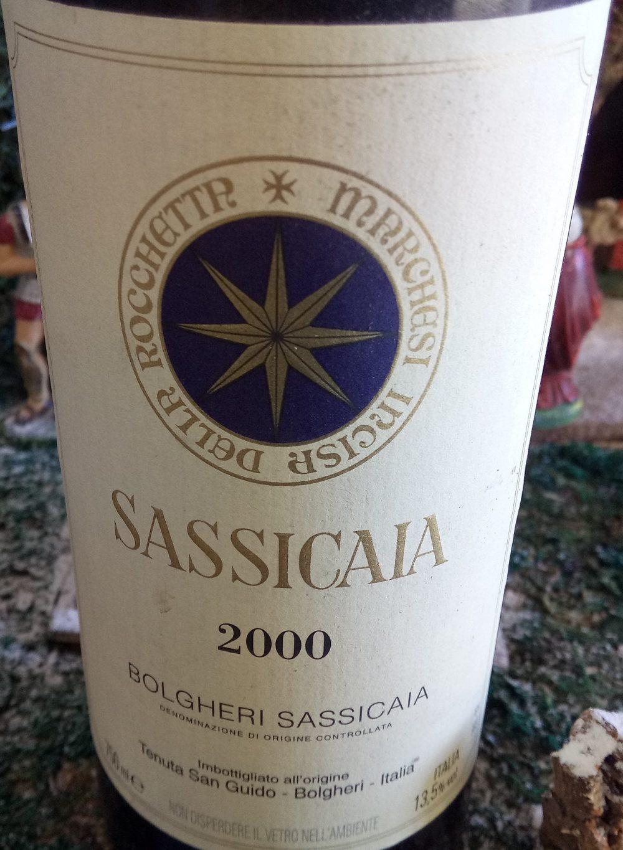 Sassicaia Bolgheri Doc 2000 Tenuta San Guido