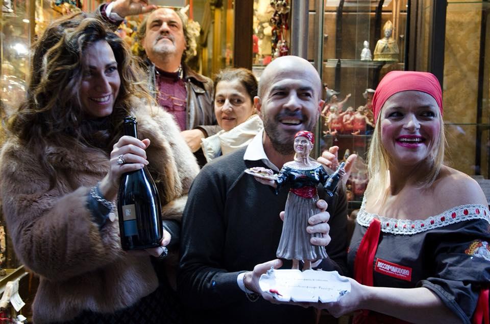 Teresa Iorio con Marco Ferrigno e Francesca Marino