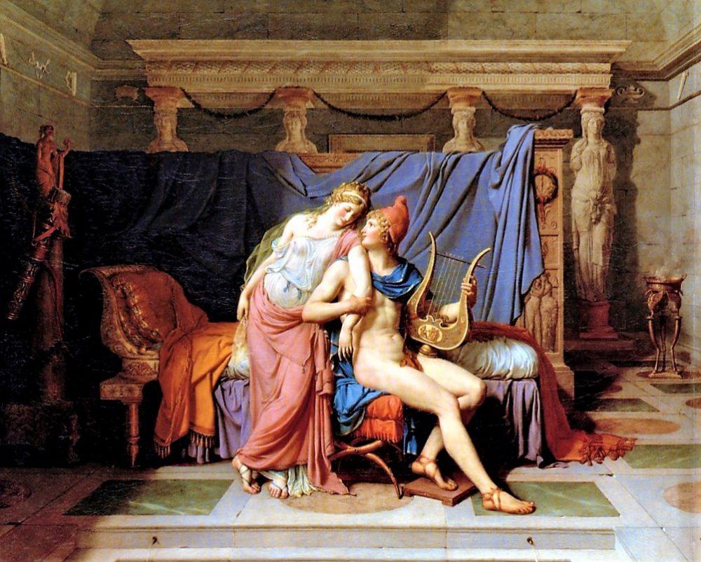J.L. David, Gli amori di Elena e Paride
