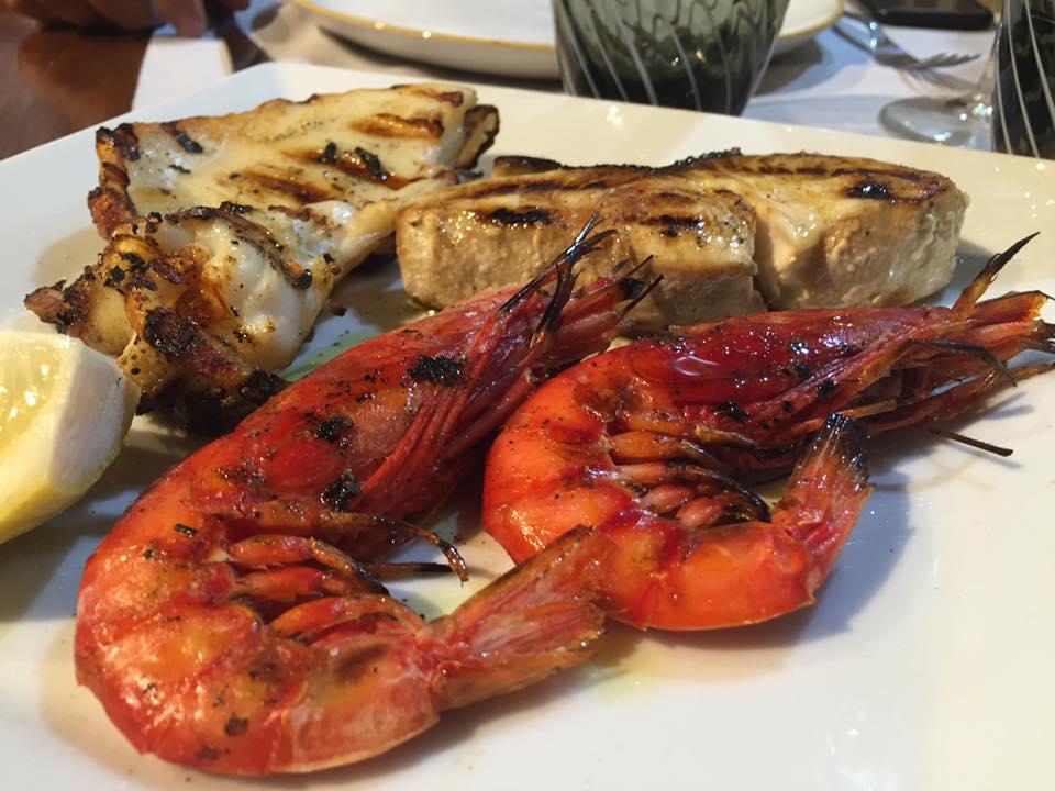 Pescorante 'O Lupino, grigliata mista