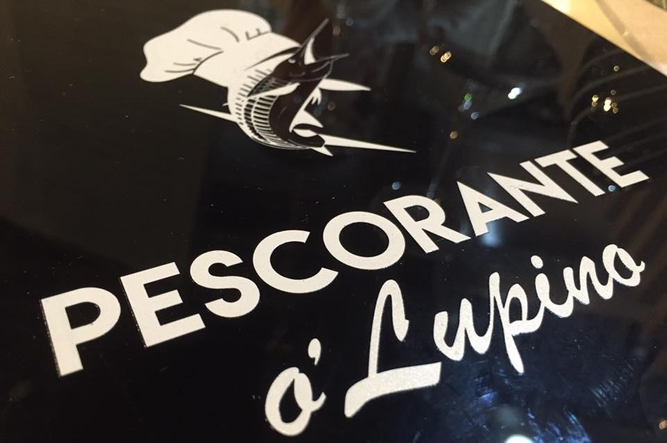 Pescorante 'O Lupino, il menu'