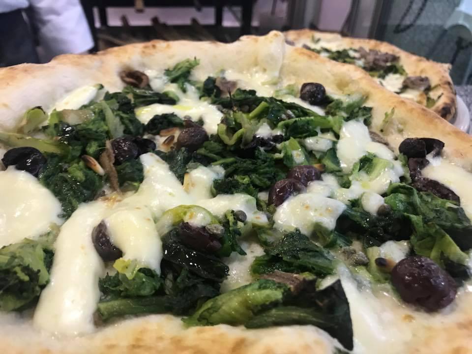 Pizzeria Haccademia, pizza con scarole
