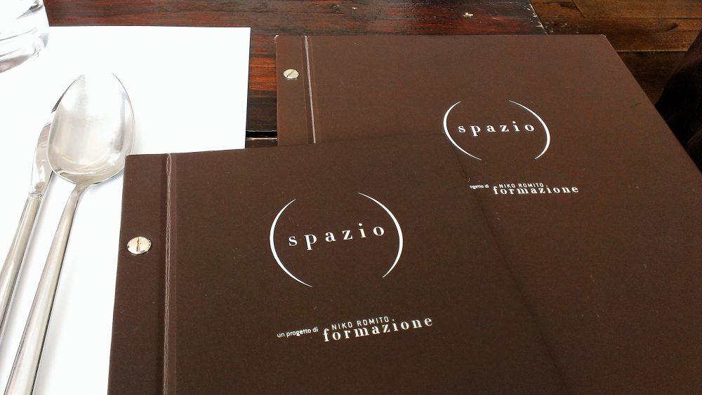 Spazio Zero Rivisondoli AQ - il menu'