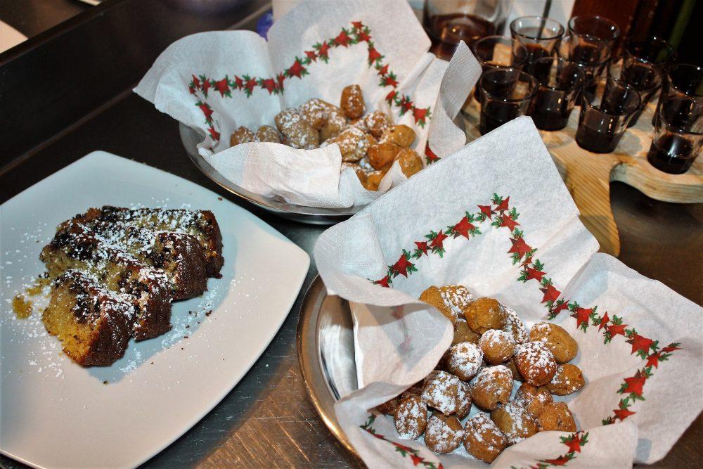 Le Campestre – struffoli e torta panettone agli agrumi