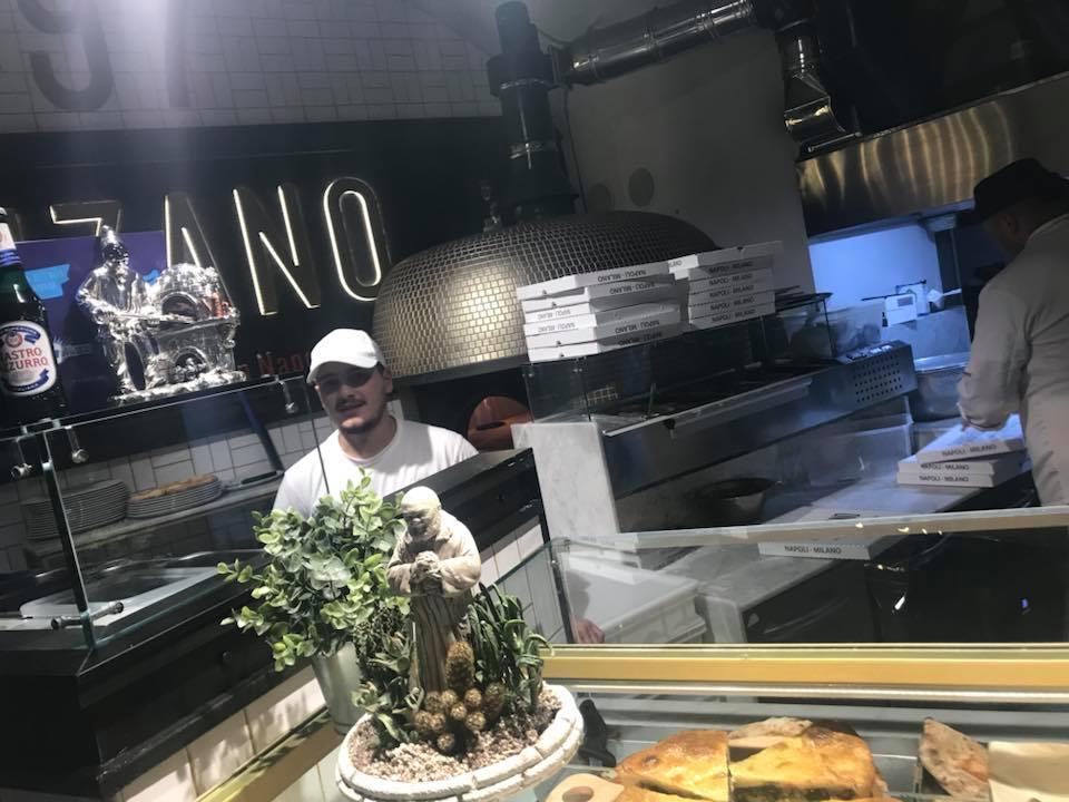 Pizzeria Fiorenzano, il forno