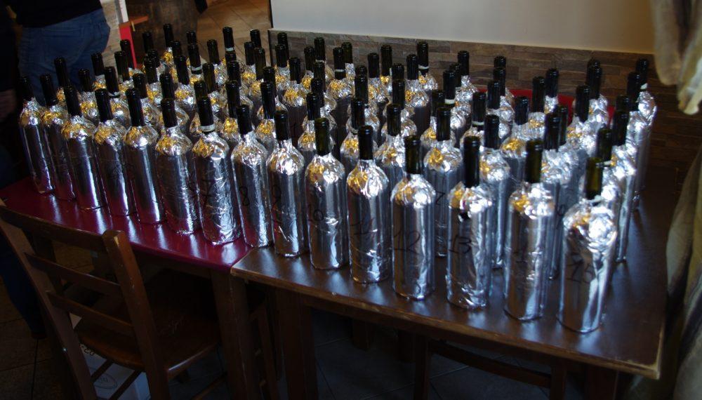 Brunello di Montalcino 2013 Vs 2012 - Bottiglie Bendate