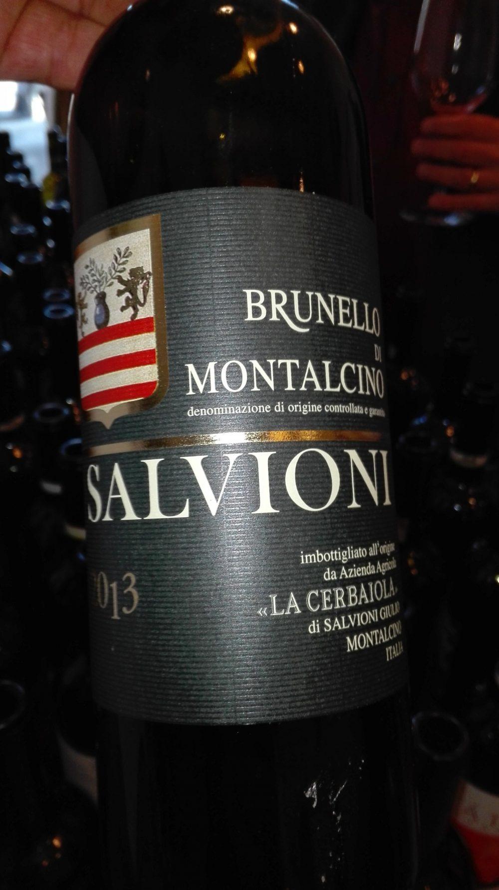 Brunello di Montalcino 2013 Vs 2012 - Salvioni