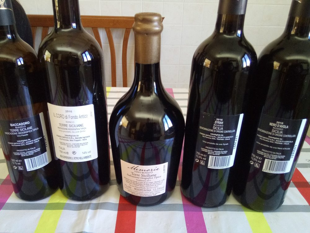 Controetichette Vini vdi Fondo Antico