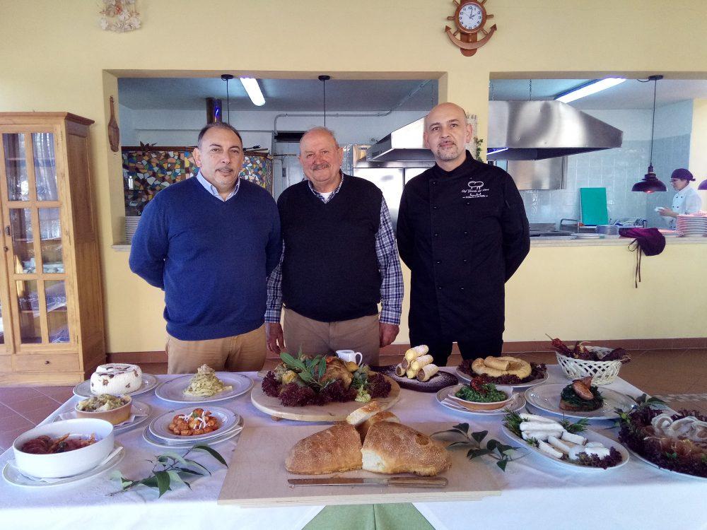 Da sx Giovanni Coi, Nicola Lamberti e Gerardo Del Duca