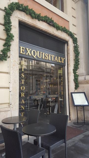 Exsquisitaly, entrata