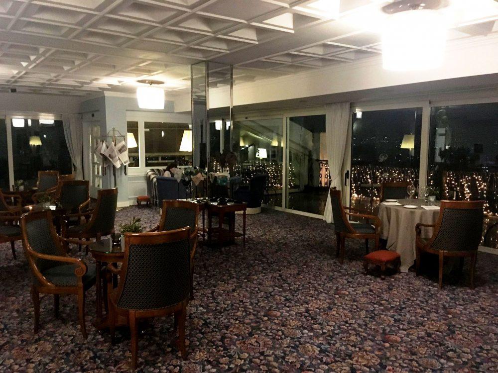 Grand Hotel Parkers, Gli Interni del George's Restaurant