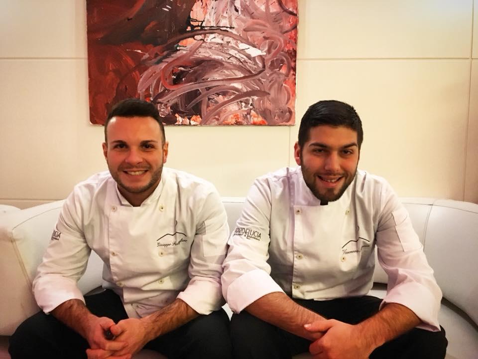 Renzo & Lucia, Gli Chef Giuseppe Postiglione & Vincenzo Marra