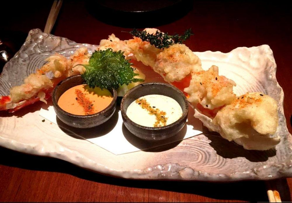 Novikov King Crab Tempura