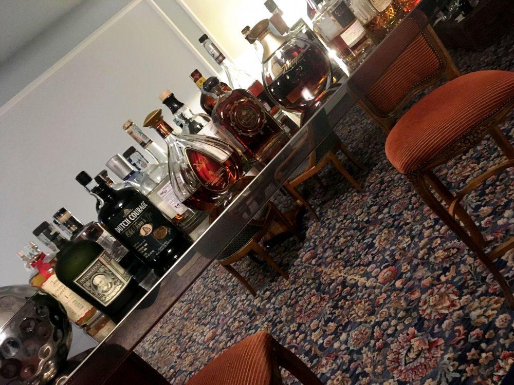 Grand Hotel Parkers, L'Angolo dei Distillati