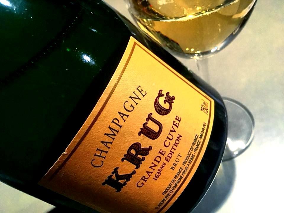 HBToo, Champagne Krug Grande Cuvee 163Eme Edition