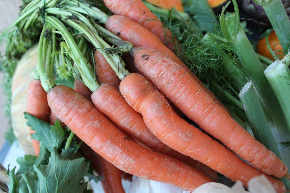 Top Ten degli alimenti, le carote