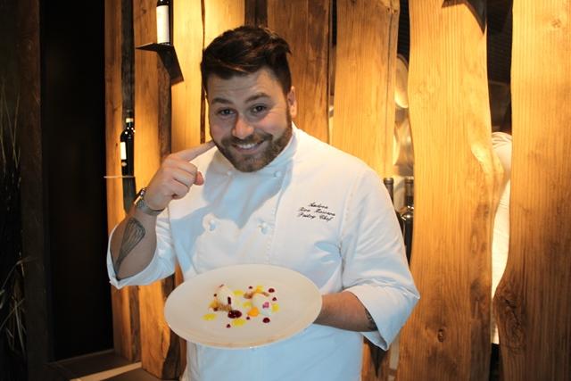 Il pastry chef Andrea Riva Moscara