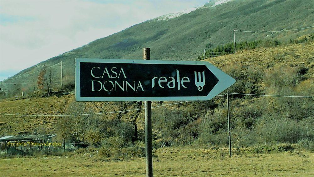 Castel di Sangro - Indicazioni stradali Casadonna Reale