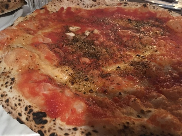 L'Antica Pizzeria Da Michele, la marinara