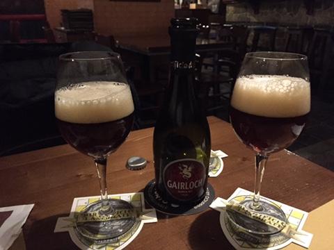 La Gairloch, Scotch Ale del campano Birrificio dell'Aspide. Foto da www.brasseriaveneta.org