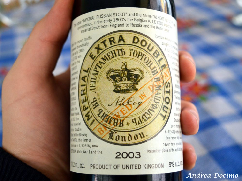 La Imperial Extra Double Stout di Harvey's