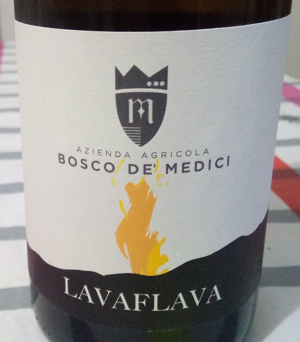 Lavaflava Lacryma Christi Bianco Doc Vesuvio 2016 Bosco de' Medici