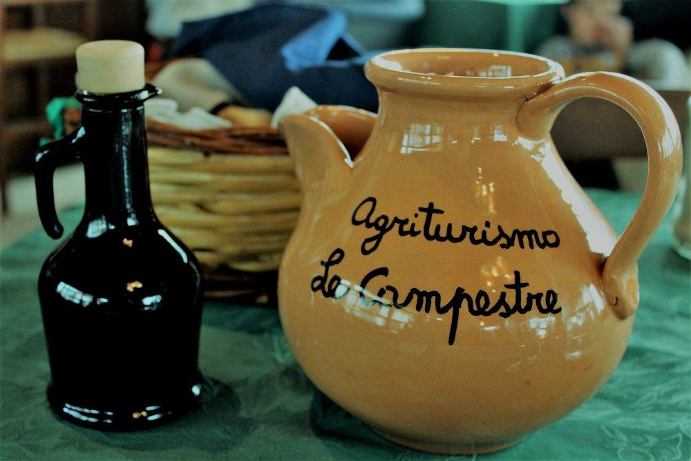 Le Campestre – l'olio e il vino in brocca