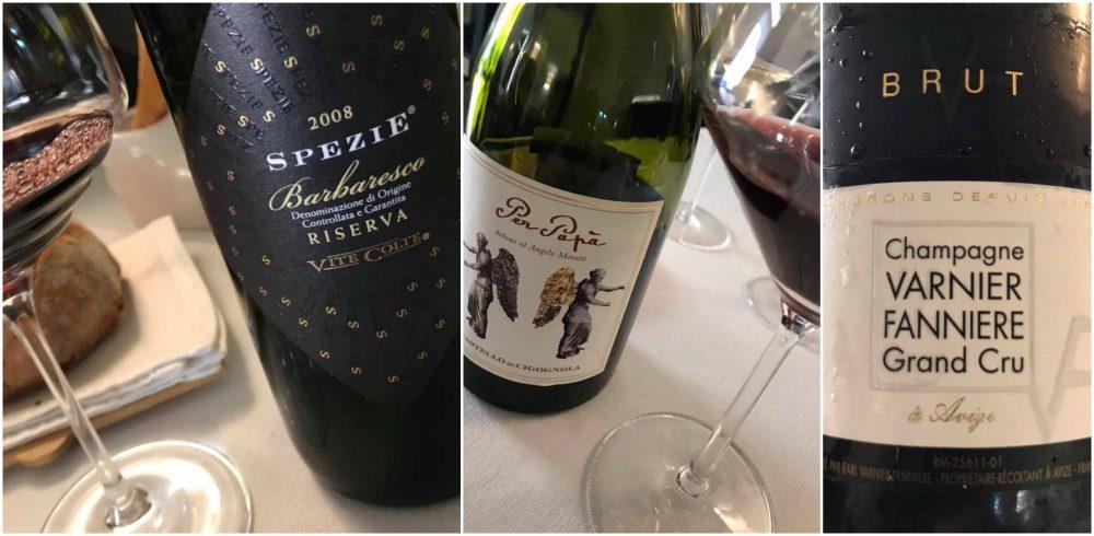 Piazzetta Milu', vini e champagne