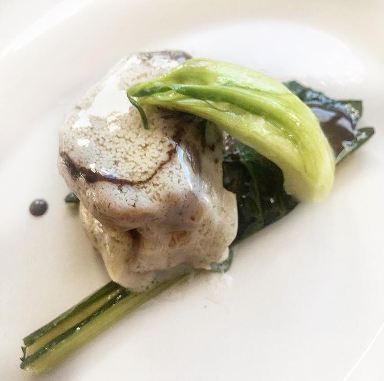 Pig. Antonio Biafora - costine,cicoria, puntarelle aglio nero
