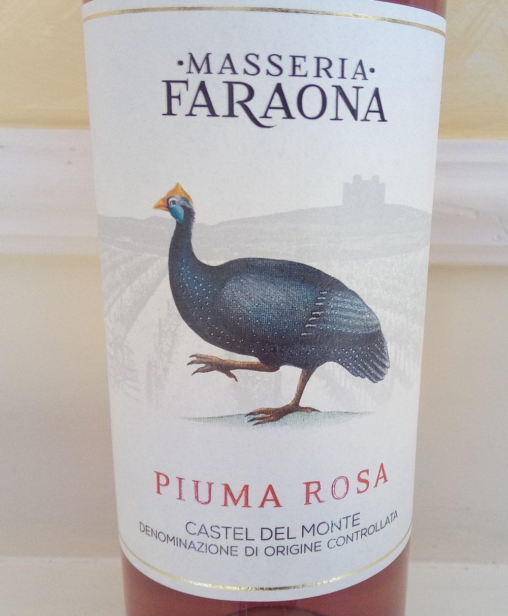 Piuma Rosa Rosato Castel del Monte Doc 2016 Masseria Faraona