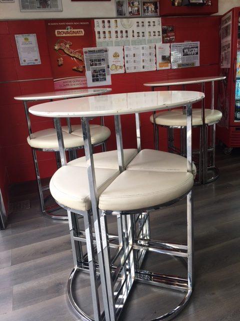 Pizzeria Arte Bianca, sala