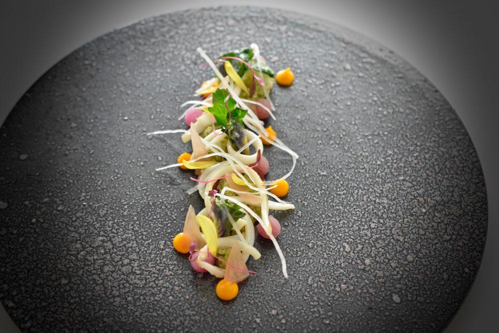 Quinoa alle erbe con calamari di Giuseppe Molaro
