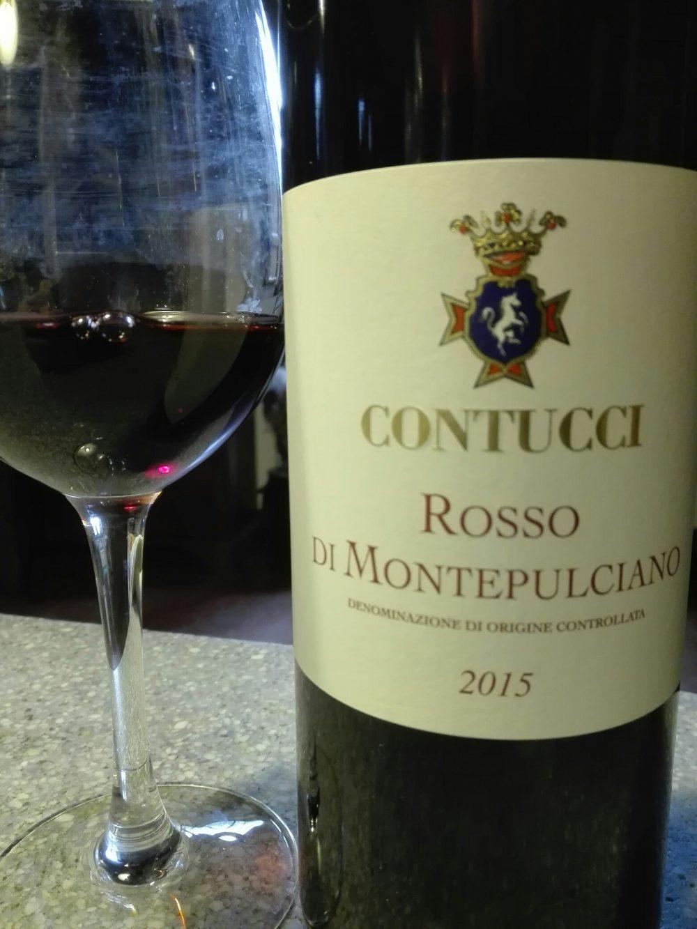 Rosso di Montepulciano doc 2015, Contucci
