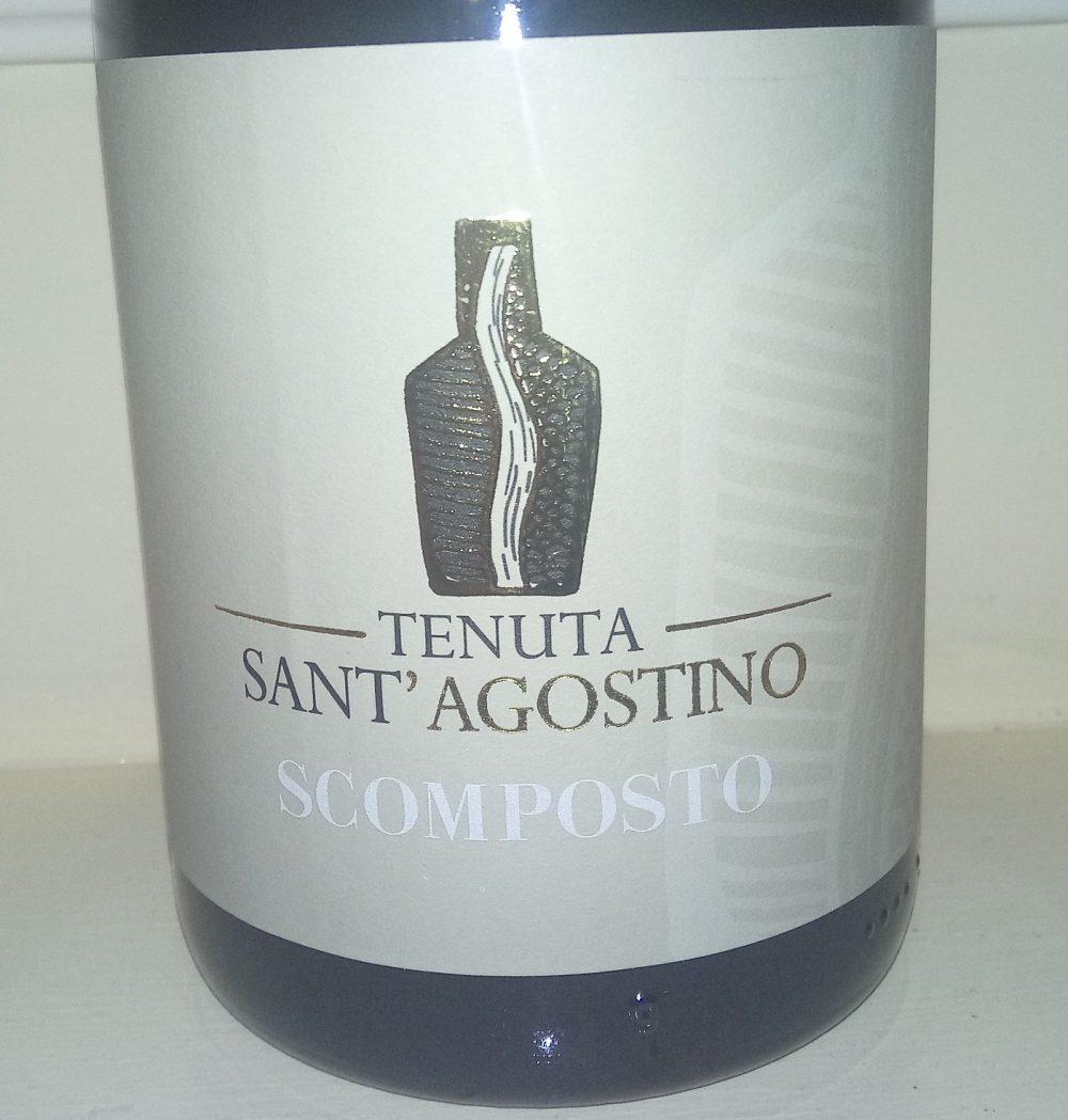 Scomposto Benevento Bianco Igt 2015 Tenuta Sant'Agostino