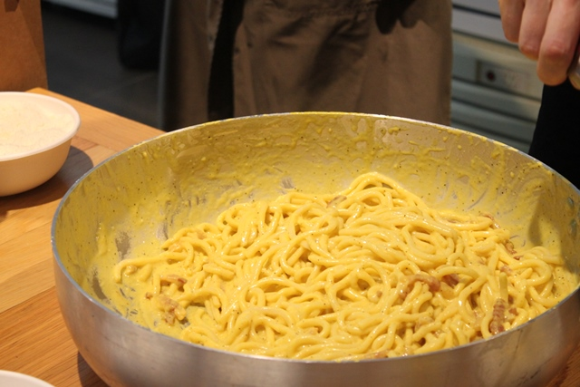 Spaghettoni alla Carbonara, F.lli Mori