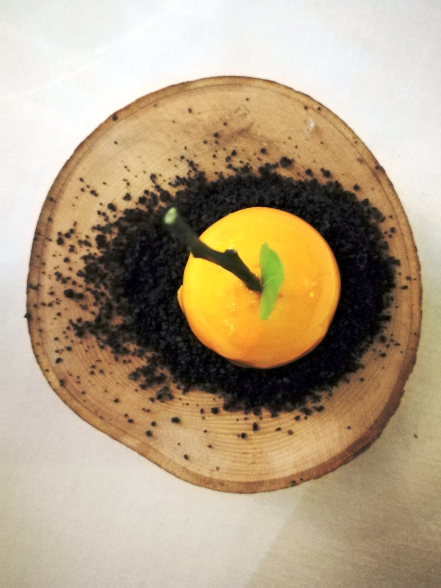 Taverna Vesuviana -Predessert - Frozen tangerine