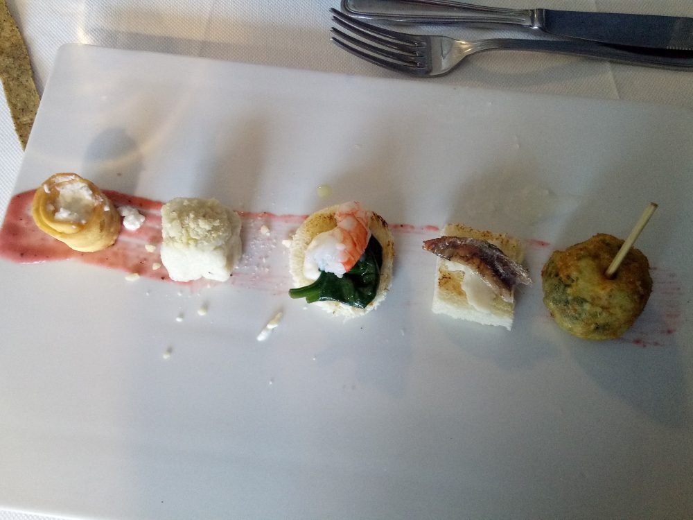 Taverna del Mozzo, Antipasto