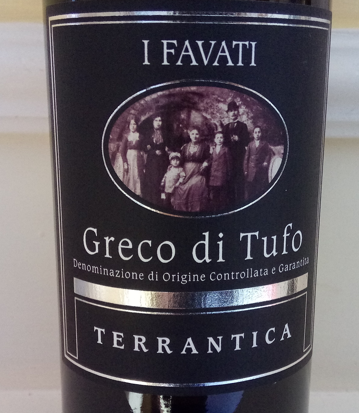 Terrantica Greco di Tufo Docg 2016 I Favati