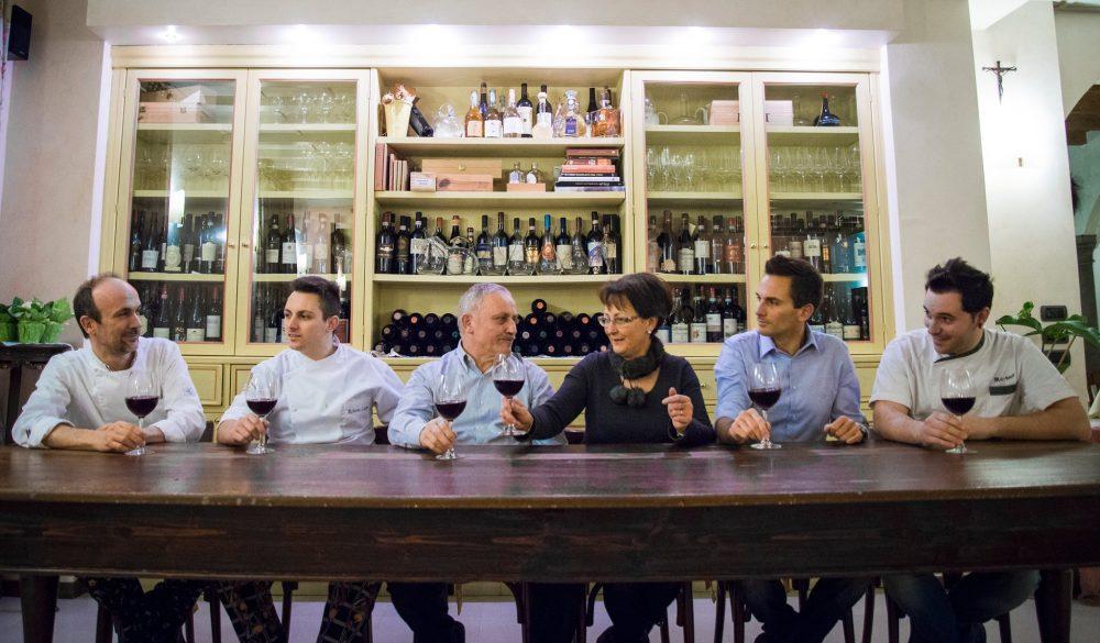 Trattoria Visconti, foto di gruppo
