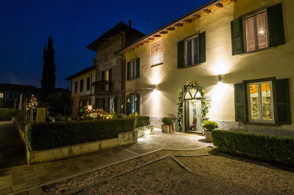 Trattoria Visconti, in notturna