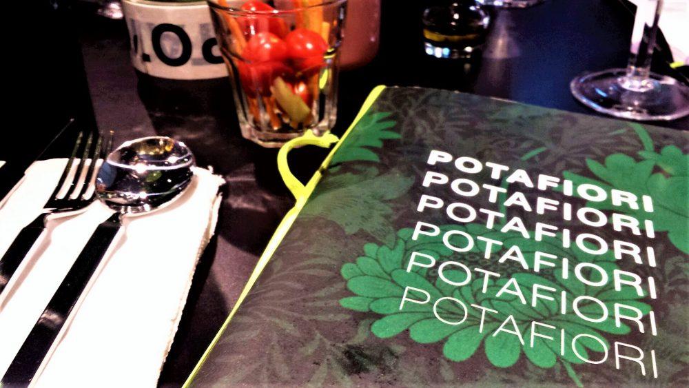 Potafiori, menu e play list