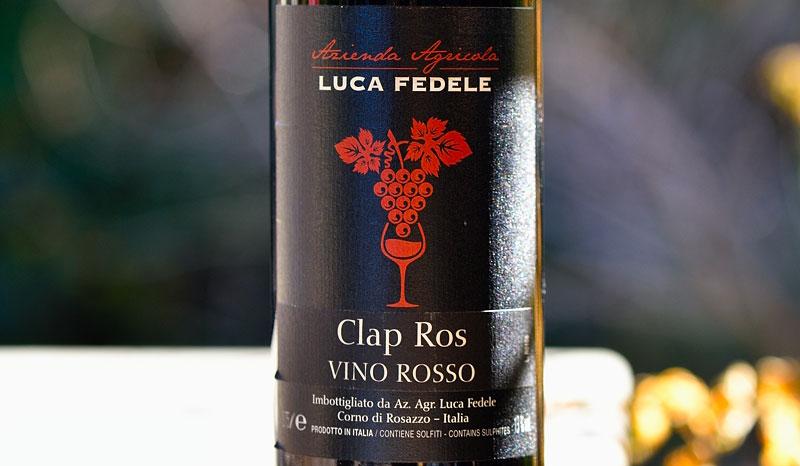 Luca Fedele, Clap Rosso 800