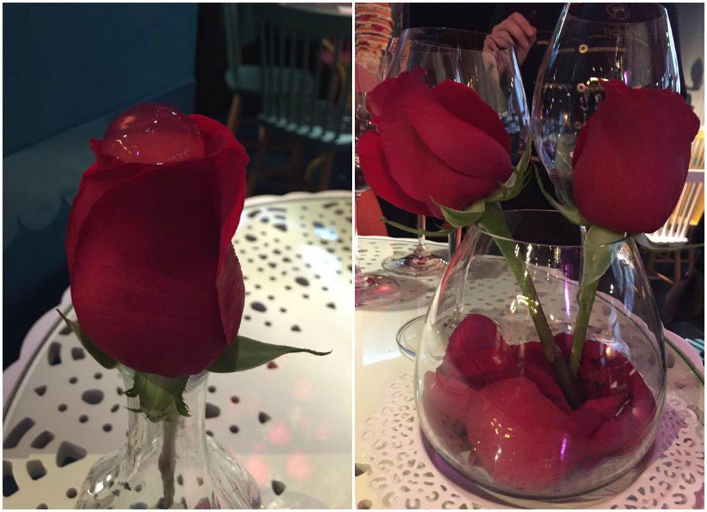 Tickets, il dessert alla rosa