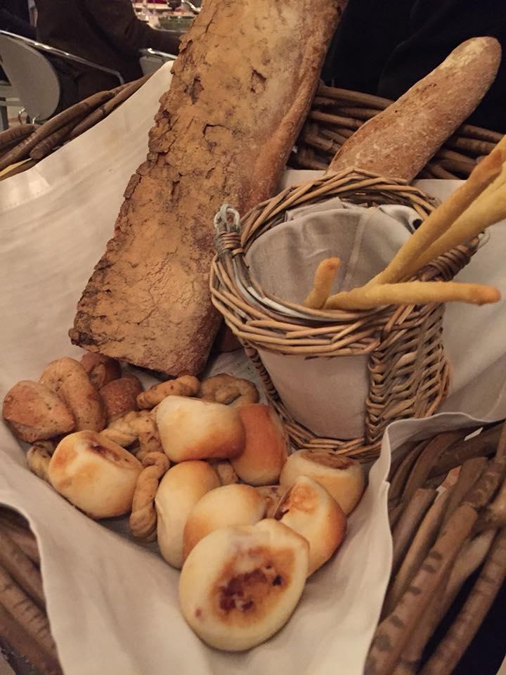 Enoteca La Torre, il cesto del pane