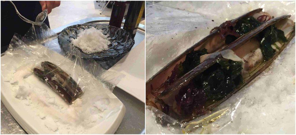 Disfrutar, i cannolicchi al sale